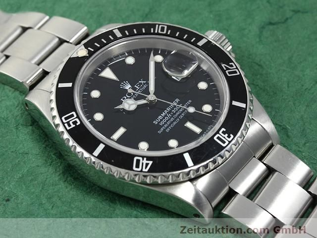 Used luxury watch Rolex Submariner steel automatic Kal. 3135 Ref. 16610  | 140730 13