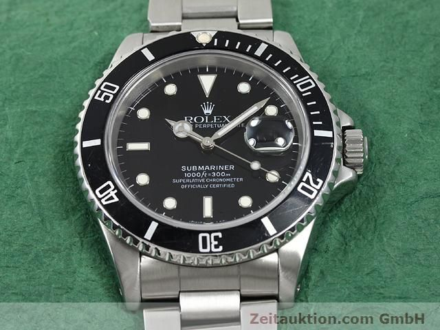 Used luxury watch Rolex Submariner steel automatic Kal. 3135 Ref. 16610  | 140730 14