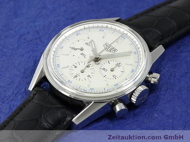 Used luxury watch Tag Heuer Carrera steel manual winding Kal. LWO 1873 Ref. CS3110  | 140731 01