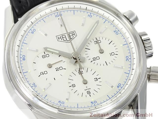 Used luxury watch Tag Heuer Carrera steel manual winding Kal. LWO 1873 Ref. CS3110  | 140731 02