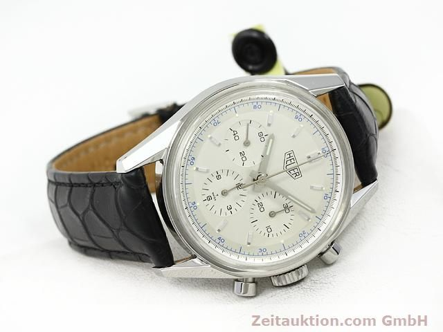 Used luxury watch Tag Heuer Carrera steel manual winding Kal. LWO 1873 Ref. CS3110  | 140731 03