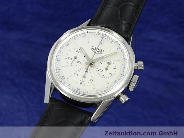 Used luxury watch Tag Heuer Carrera steel manual winding Kal. LWO 1873 Ref. CS3110  | 140731 04