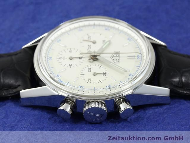 Used luxury watch Tag Heuer Carrera steel manual winding Kal. LWO 1873 Ref. CS3110  | 140731 05