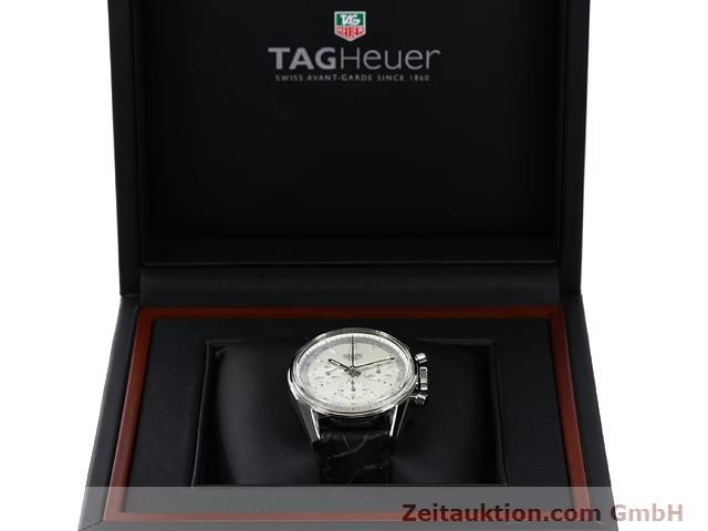 Used luxury watch Tag Heuer Carrera steel manual winding Kal. LWO 1873 Ref. CS3110  | 140731 07