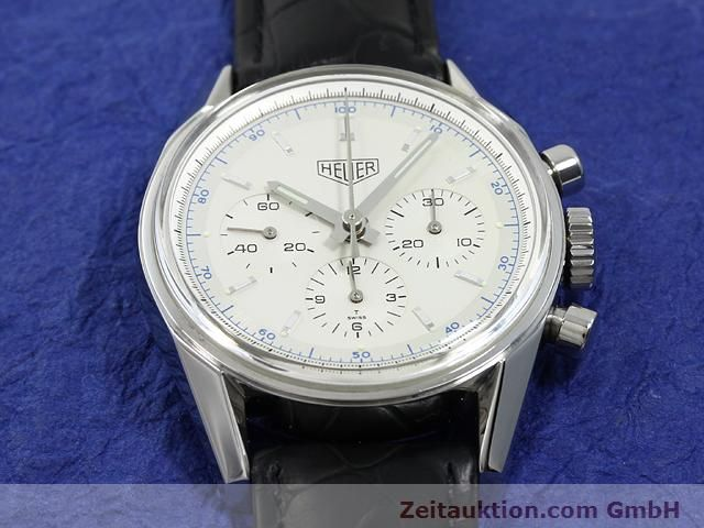 Used luxury watch Tag Heuer Carrera steel manual winding Kal. LWO 1873 Ref. CS3110  | 140731 14