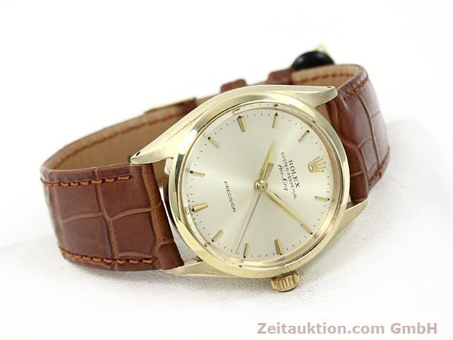 montre de luxe d occasion Rolex Precision or 9 ct automatique Kal. 1520 Ref. 5500  | 140732 03