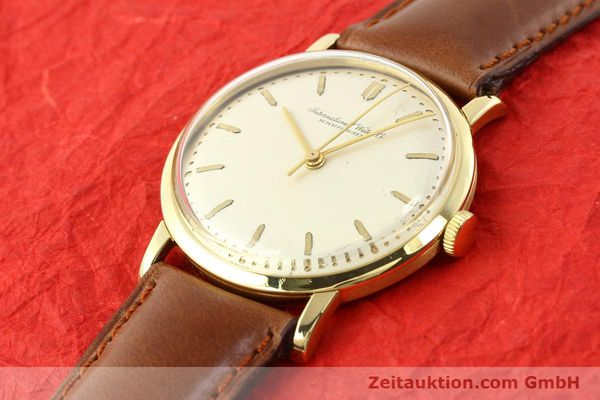 Used luxury watch IWC * 18 ct gold manual winding Kal. C.401 Ref. 1205  | 140736 01