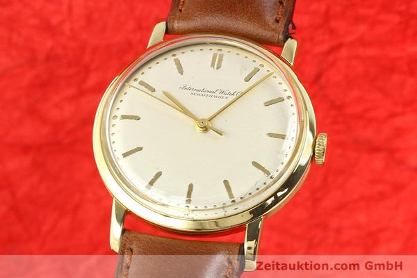 Used luxury watch IWC * 18 ct gold manual winding Kal. C.401 Ref. 1205  | 140736 04