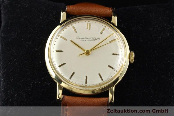 Used luxury watch IWC * 18 ct gold manual winding Kal. C.401 Ref. 1205  | 140736 07