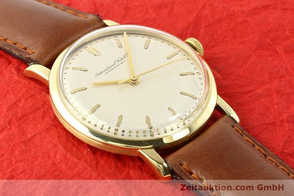 Used luxury watch IWC * 18 ct gold manual winding Kal. C.401 Ref. 1205  | 140736 13