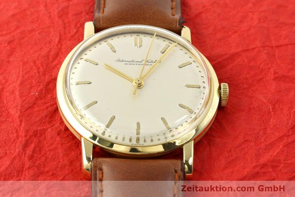 Used luxury watch IWC * 18 ct gold manual winding Kal. C.401 Ref. 1205  | 140736 14