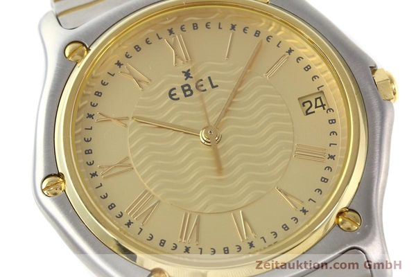 Used luxury watch Ebel Classic Wave steel / gold quartz Ref. E1187141  | 140739 02