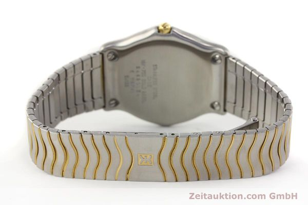 Used luxury watch Ebel Classic Wave steel / gold quartz Ref. E1187141  | 140739 10