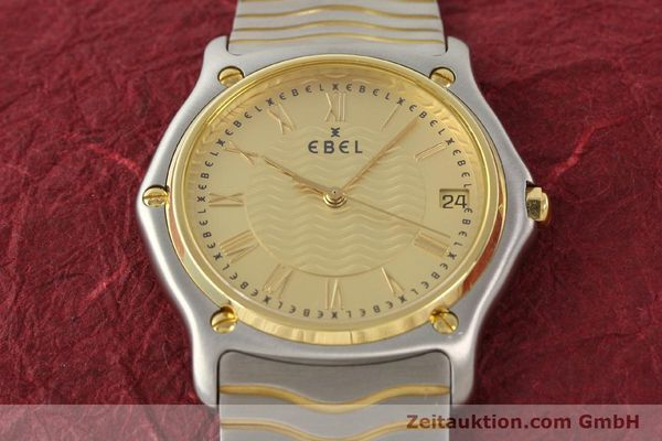 Used luxury watch Ebel Classic Wave steel / gold quartz Ref. E1187141  | 140739 14