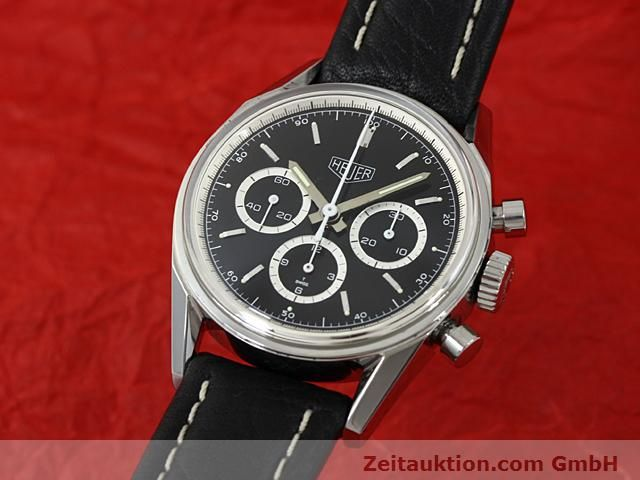 Used luxury watch Tag Heuer Carrera steel manual winding Kal. LWO 1873 Ref. CS3113  | 140743 04