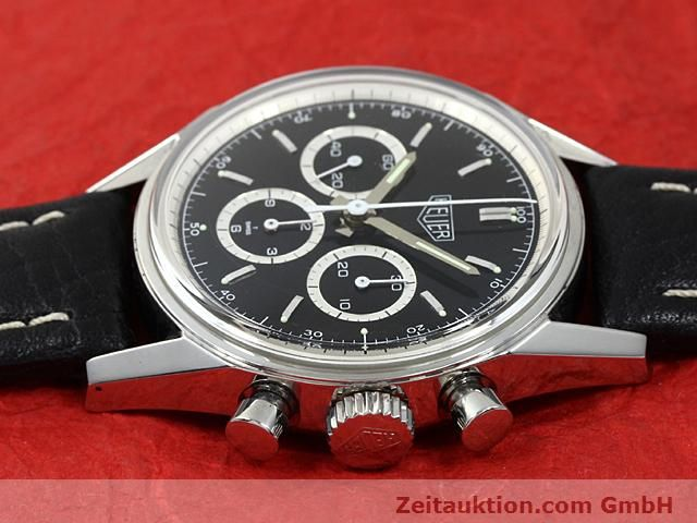 Used luxury watch Tag Heuer Carrera steel manual winding Kal. LWO 1873 Ref. CS3113  | 140743 05