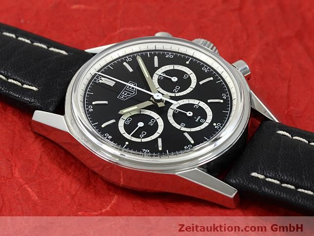 Used luxury watch Tag Heuer Carrera steel manual winding Kal. LWO 1873 Ref. CS3113  | 140743 15