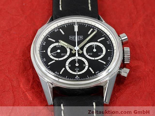 Used luxury watch Tag Heuer Carrera steel manual winding Kal. LWO 1873 Ref. CS3113  | 140743 16
