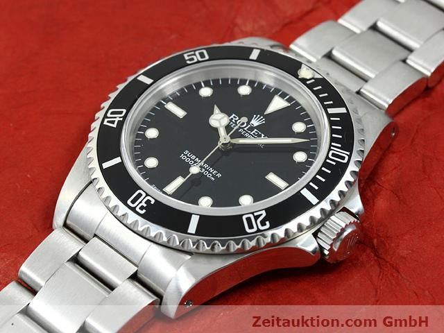 Used luxury watch Rolex Submariner steel automatic Kal. 3000 Ref. 14060  | 140746 01