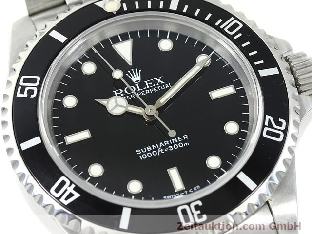 Used luxury watch Rolex Submariner steel automatic Kal. 3000 Ref. 14060  | 140746 02