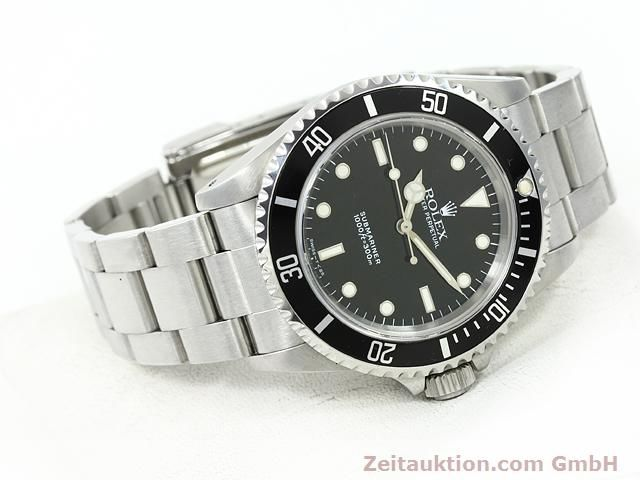 Used luxury watch Rolex Submariner steel automatic Kal. 3000 Ref. 14060  | 140746 03