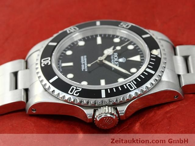 Used luxury watch Rolex Submariner steel automatic Kal. 3000 Ref. 14060  | 140746 05