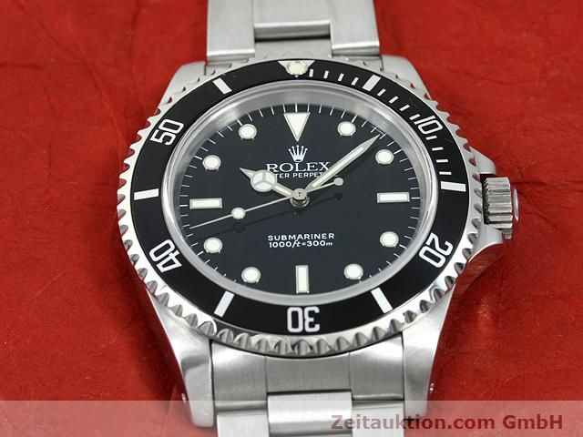 Used luxury watch Rolex Submariner steel automatic Kal. 3000 Ref. 14060  | 140746 15