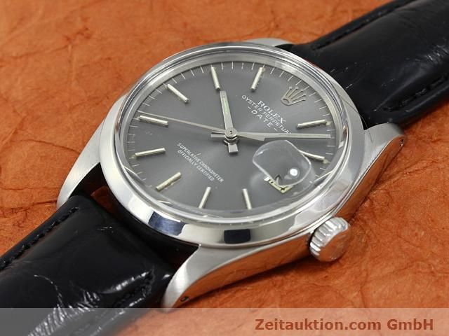 Used luxury watch Rolex Date steel automatic Kal. 1570 Ref. 1505  | 140747 01