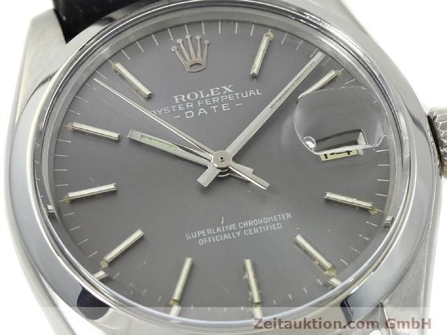 Used luxury watch Rolex Date steel automatic Kal. 1570 Ref. 1505  | 140747 02