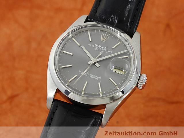 Used luxury watch Rolex Date steel automatic Kal. 1570 Ref. 1505  | 140747 04