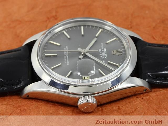 Used luxury watch Rolex Date steel automatic Kal. 1570 Ref. 1505  | 140747 05