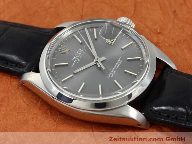 Used luxury watch Rolex Date steel automatic Kal. 1570 Ref. 1505  | 140747 13