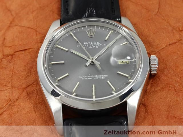 Used luxury watch Rolex Date steel automatic Kal. 1570 Ref. 1505  | 140747 14