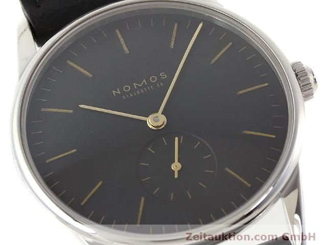 Used luxury watch Nomos Orion steel manual winding Kal. ETA 7001  | 140748 02