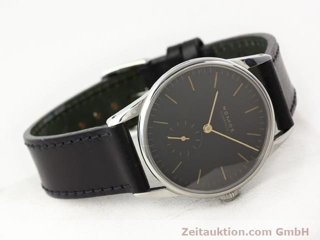 Used luxury watch Nomos Orion steel manual winding Kal. ETA 7001  | 140748 03