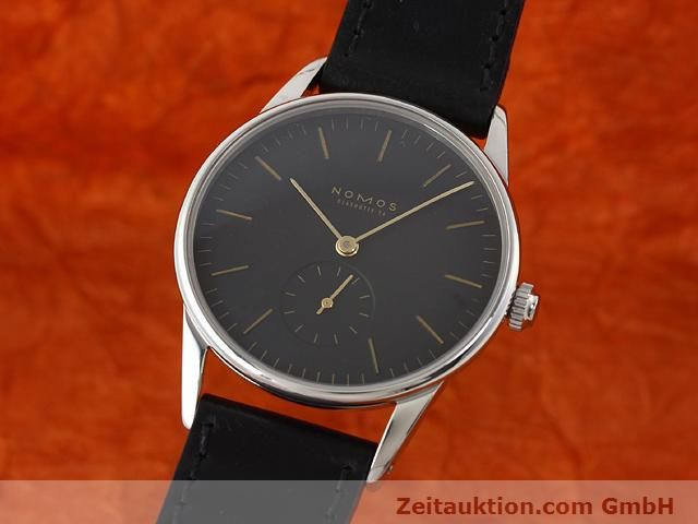 Used luxury watch Nomos Orion steel manual winding Kal. ETA 7001  | 140748 04