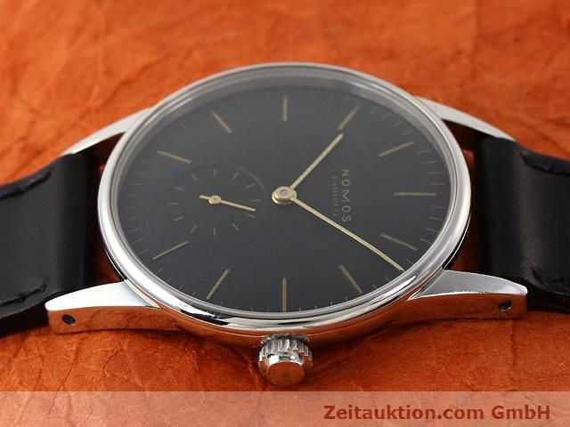 Used luxury watch Nomos Orion steel manual winding Kal. ETA 7001  | 140748 05