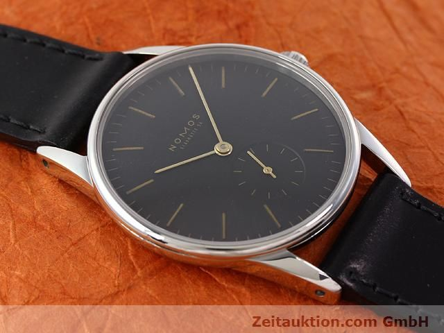 Used luxury watch Nomos Orion steel manual winding Kal. ETA 7001  | 140748 14