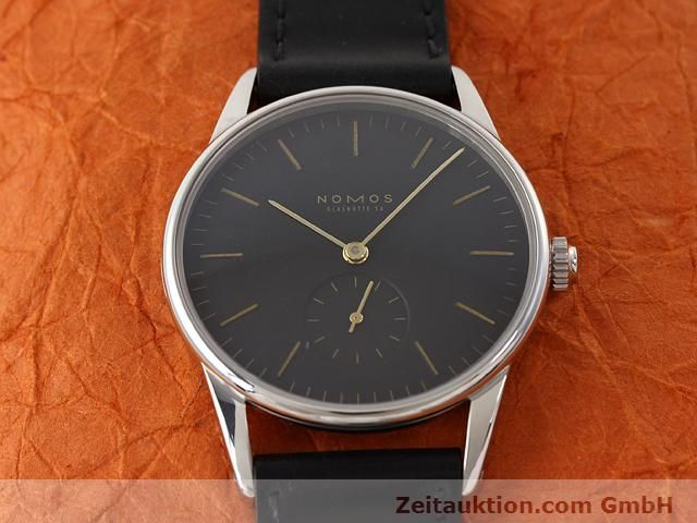 Used luxury watch Nomos Orion steel manual winding Kal. ETA 7001  | 140748 15