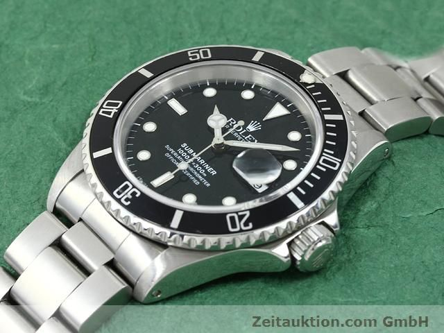 Used luxury watch Rolex Submariner steel automatic Kal. 3135 Ref. 16610  | 140751 01