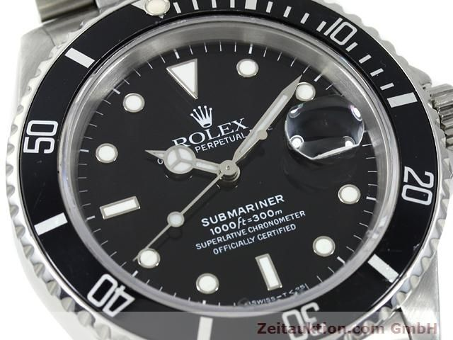 Used luxury watch Rolex Submariner steel automatic Kal. 3135 Ref. 16610  | 140751 02