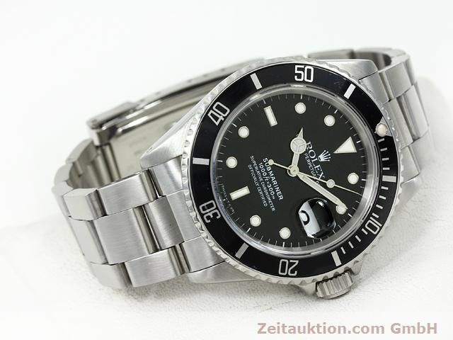 Used luxury watch Rolex Submariner steel automatic Kal. 3135 Ref. 16610  | 140751 03