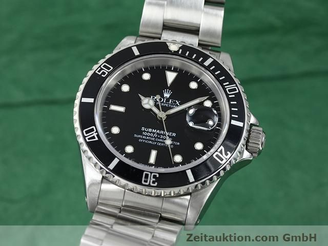 Used luxury watch Rolex Submariner steel automatic Kal. 3135 Ref. 16610  | 140751 04