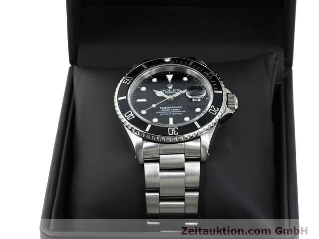 Used luxury watch Rolex Submariner steel automatic Kal. 3135 Ref. 16610  | 140751 07
