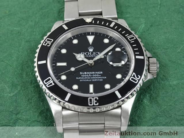Used luxury watch Rolex Submariner steel automatic Kal. 3135 Ref. 16610  | 140751 16