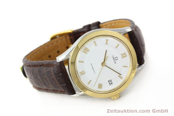 Used luxury watch Omega * steel / gold automatic Kal. 1110 ETA 2892-2  | 140753 03