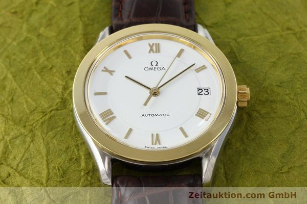 Used luxury watch Omega * steel / gold automatic Kal. 1110 ETA 2892-2  | 140753 13