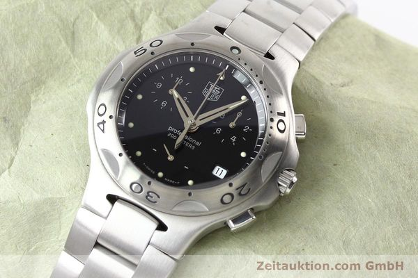 Used luxury watch Tag Heuer Professional steel quartz Ref. CL1110  | 140755 01
