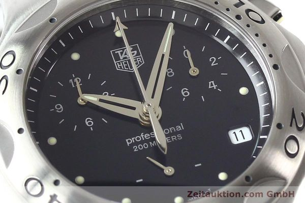 Used luxury watch Tag Heuer Professional steel quartz Ref. CL1110  | 140755 02