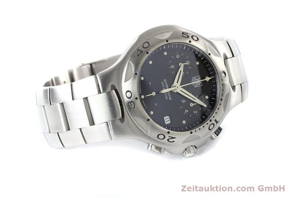 Used luxury watch Tag Heuer Professional steel quartz Ref. CL1110  | 140755 03